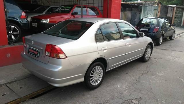 Honda Civic ex automatico 2006 + couro novinho - Foto 6