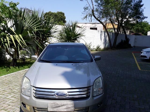 Vendo Ford Fusion 2008 blindado completo cor prata + empresa - Foto 5