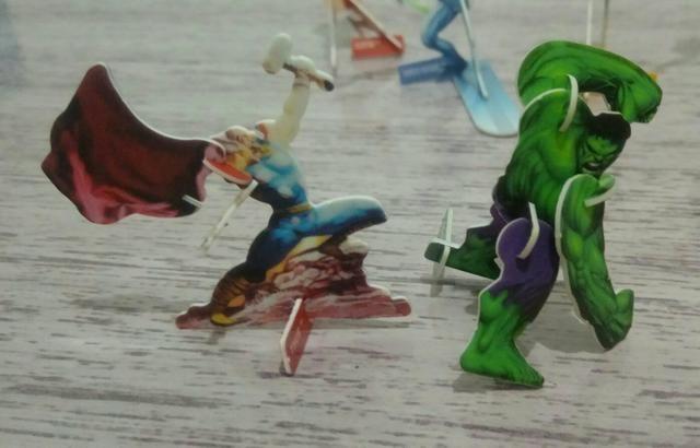 Super Heróis Elma Chips - Foto 2