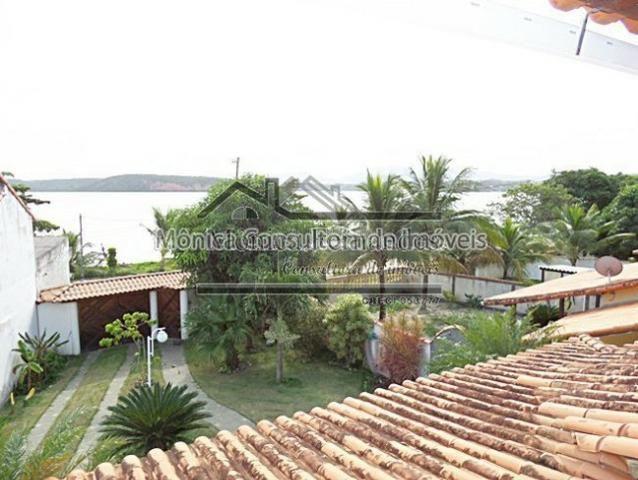 Duplex, 1/2 Porteira Fechada, Frente Lagoa, 3 Suítes Com Vista Para Lagoa-Maricá/RJ - Foto 11