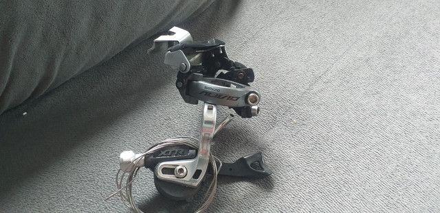 Câmbio dianteiro e trocador dianteiro  sl-m970  - Foto 3