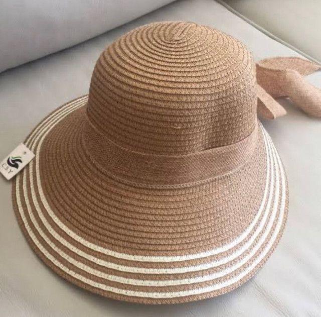 Chapéu moda praia - Foto 2