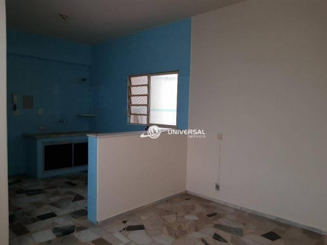 Apartamento com 3 quartos para alugar, 138 m² por R$ 1.800/mês - Centro - Juiz de Fora/MG - Foto 9