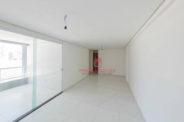Apartamento 3 quartos no Bessa com varanda gourmet e área de lazer - Foto 9