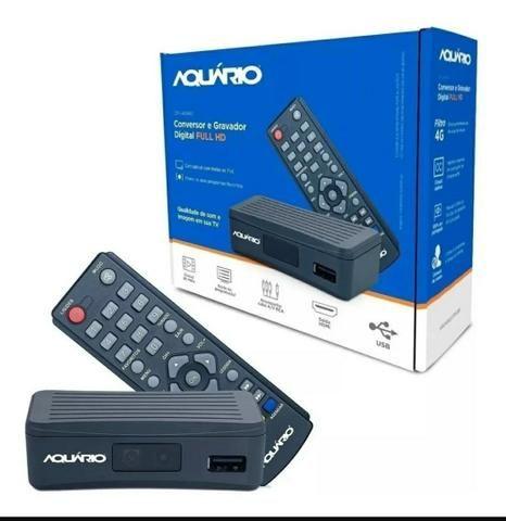 Conversor Digital e Gravador Full Hd Aquário Dtv 4000