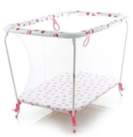 Cercadinho para bebê Cosco 1 mês de uso