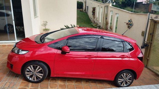 Honda FIT Ex - Único dono pela FIPE 2015 - Todo revisado em concessionaria - Foto 6