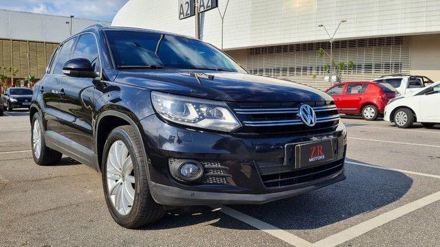 Volkswagen - Tiguan 2014 blindada com teto - Foto 2