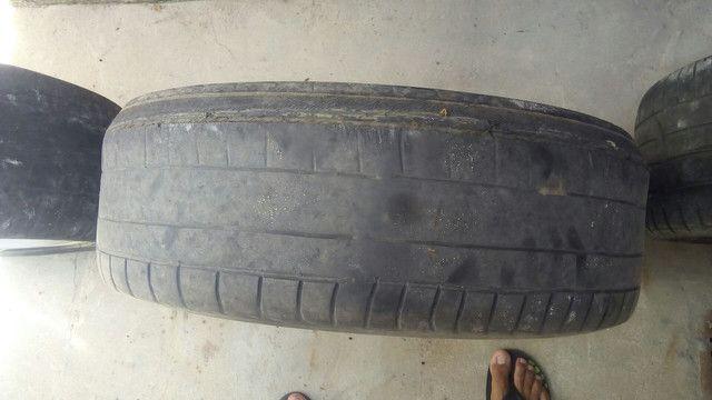 Vendo rodas aro 18 da marca Vulcano ou faço jogo em som de mala grave de 18 - Foto 3