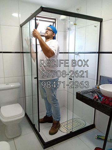 Box para banheiro em vidro temperado - Recife Box - * - Foto 3