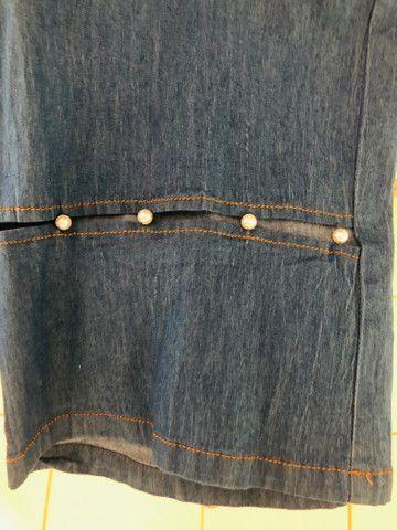Macacão jeans M/G - Foto 3