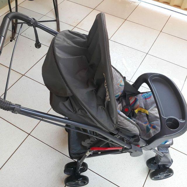 Vendo Berço minicama carolina c/ carrinho bebê Galzerano - Foto 6