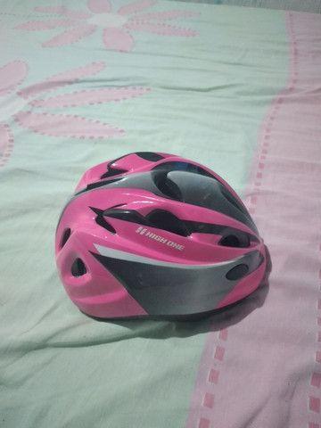Vendo um capacete dê ciclista - Foto 5
