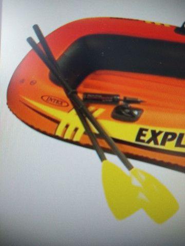 Remos para bote ou caiaque Bi Partido 122cm Intex (o par)