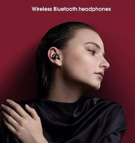 (NOVO) Fone De Ouvido Sem Fio Bluetooth Universal Stereo A-w1 - Foto 4