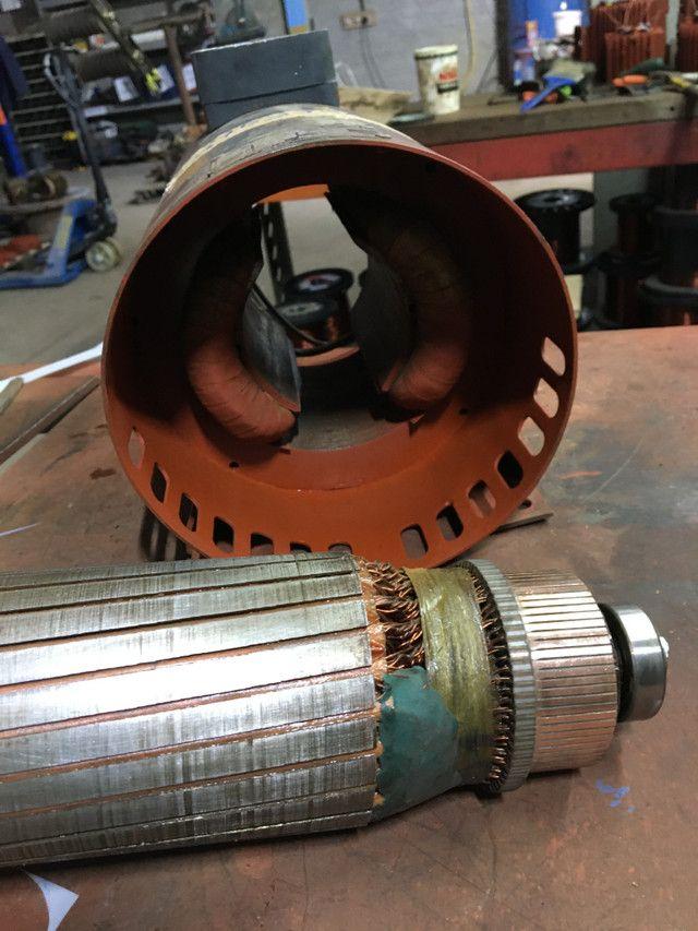 Motor elétrico corrente contínua 1,5 cv - Foto 5
