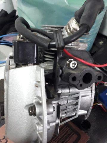 Motor 26cc roçadeira e automodelo - Foto 6