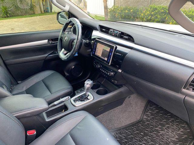 Toyota Hilux SRX 2.8 TDI - Turbo Diesel 4x4  - Impecável - 81Mil Km  - Foto 15