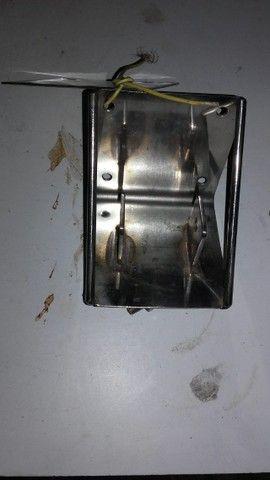 Suporte Flangeado de Aço Inox para Veleiros Novo - Foto 3