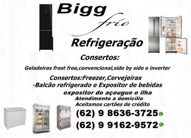 Manutenção>>>Consertos de Geladeiras-Freezer\Cervejeiras\Balcão refrigerado e outros