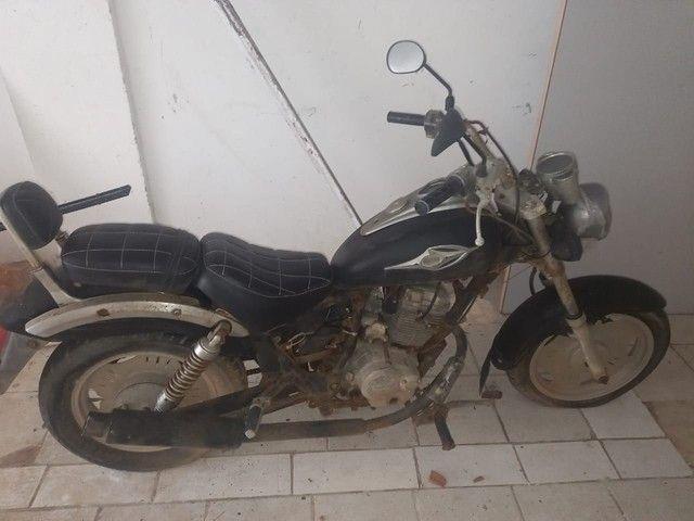 Moto Dayun 2008 , 150 , valor,: 2000.00.aceito proposta . - Foto 4