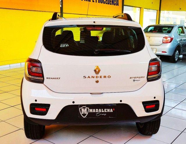 Impecável Renault Sandero Stepway com vc KM - Foto 3