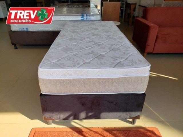 Conjunto Box Solteiro - Sevilha  Molas Ensacadas - Promoção de Outubro - Foto 3