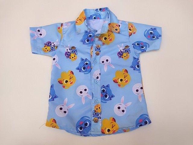 Camisa temática bolofofos