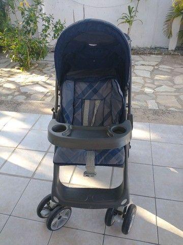 Carrinho de bebê + bebê conforto Burigotto - Foto 4