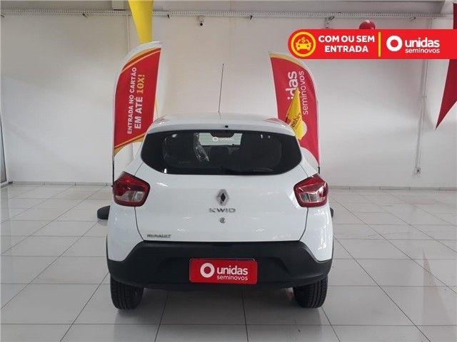 Renault Kwid 2021 1.0 12v sce flex zen manual - Foto 4