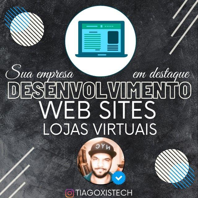 Criação e desenvolvimento de Sites, aplicativos, lojas virtuais e Sistemas personalizados