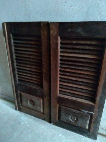 Duas janelas de pau darco usados e completas - Foto 2
