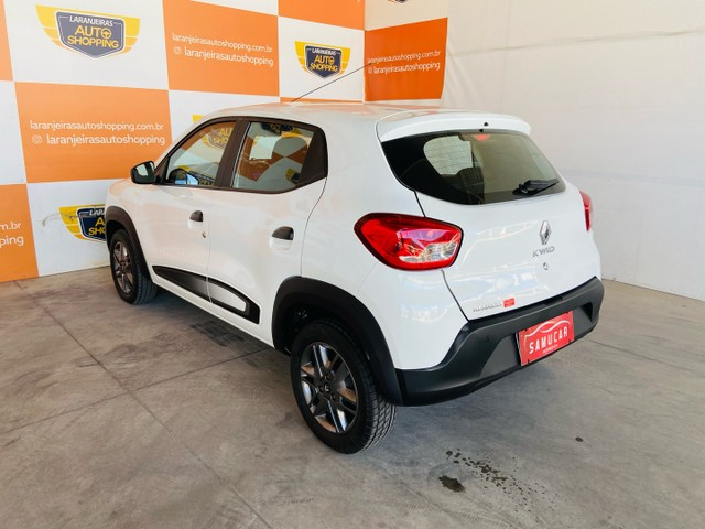 Renault kwid 1.0 2018 - aceito moto na troca - Foto 3