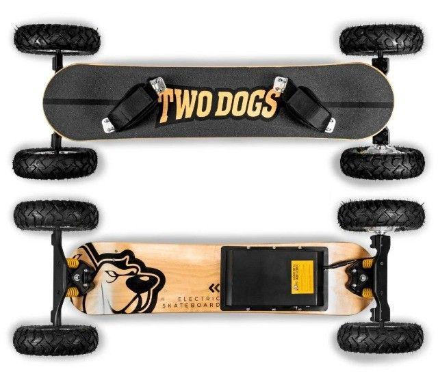 Skate elétrico twodogs