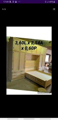 Armário de madeira maciça  - Foto 4