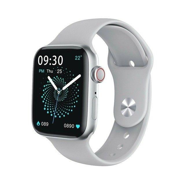 Relógio smartwatch w26 44mm original touch - Foto 3