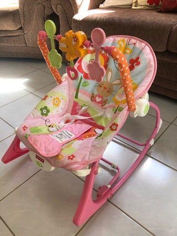 Cadeira de descanso fisher price seminova - Foto 3