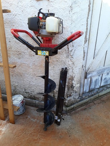 Máquina de perfurar  solos com alongadores. - Foto 5
