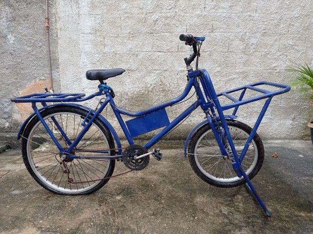 Bicicleta de carga linda de mais  - Foto 2