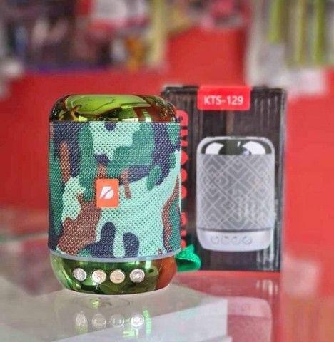 Caixa De Som Kts-129 Via Bluetooth