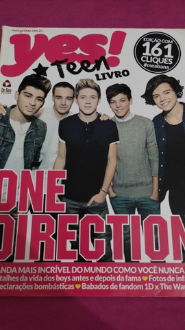 Revista One Direction Yes Teen