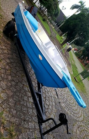 Vendo barco de Fibra - Foto 2
