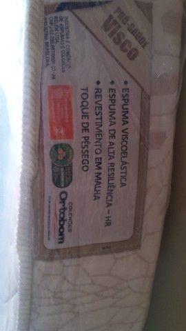 Colchão Ortobom para Pessoas Acamadas de Alta Qualidade (Semi Novo) - Foto 5