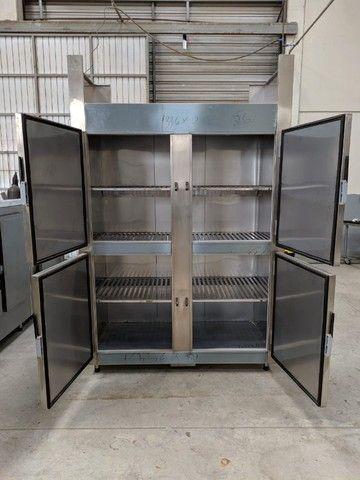 Refrigerador/Congelador Industrial - 100% Aço Inox AISI 430 - NOVO - Foto 6