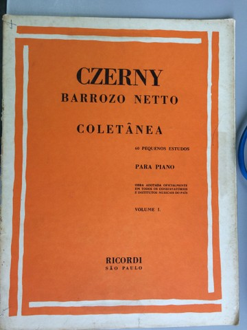 Czerny técnica para piano, 6 volumes