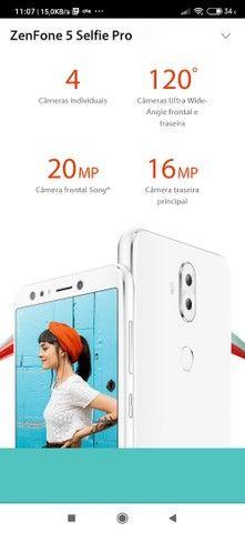 Vendo celular zenfone 5 selfie pró 128 giga 4ram