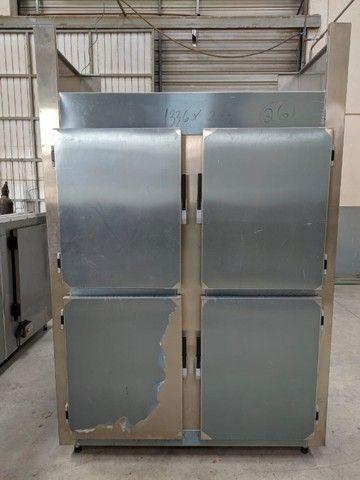 Refrigerador/Congelador Industrial - 100% Aço Inox AISI 430 - NOVO - Foto 2