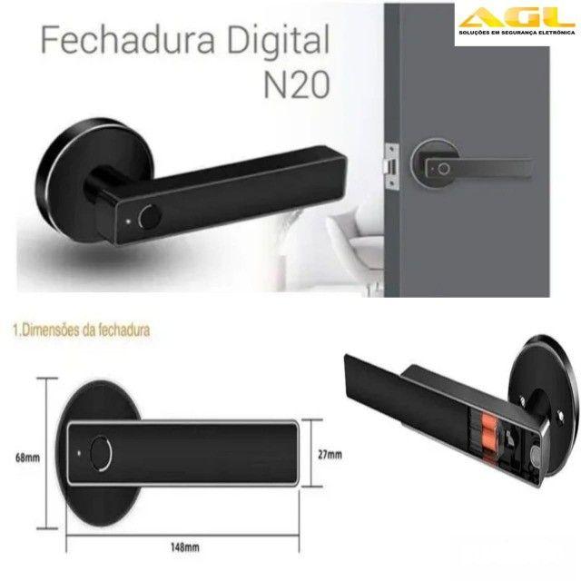 Fechadura Digital Agl N20 Biométrica - Foto 4