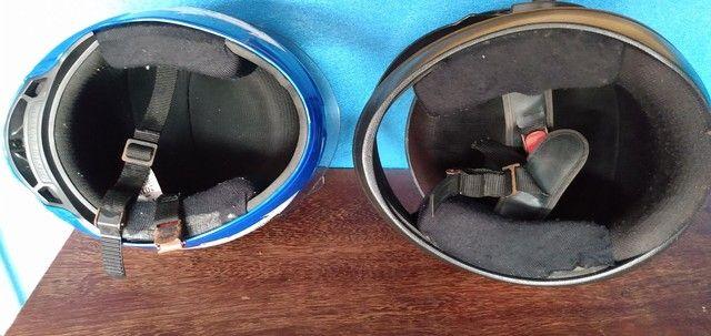 Desapego de dois capacetes - Foto 4