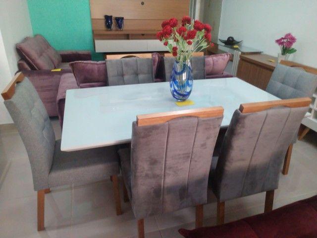 Mesa de 1,60 X 0,90 com 6 cadeiras - Foto 2